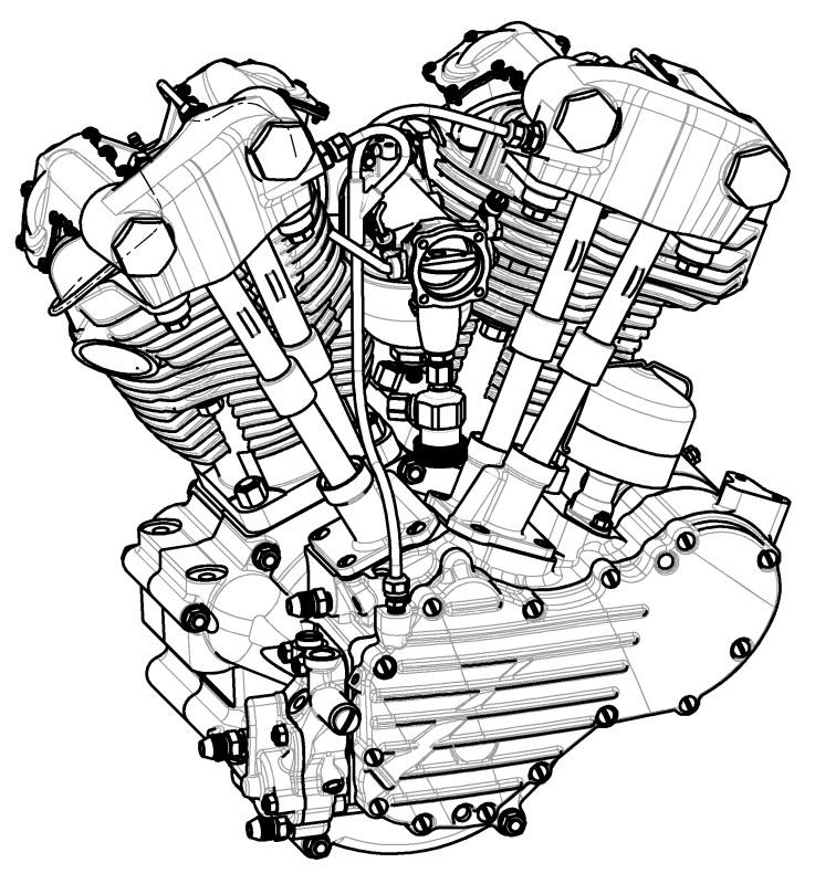 Project 1946 Harley Davidson Knucklehead Engine Rebuild